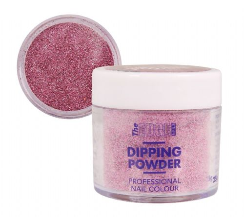 EDGE COLOURED QUICK NAIL ACRYLIC DIPPING POWDER - BERRY DUST